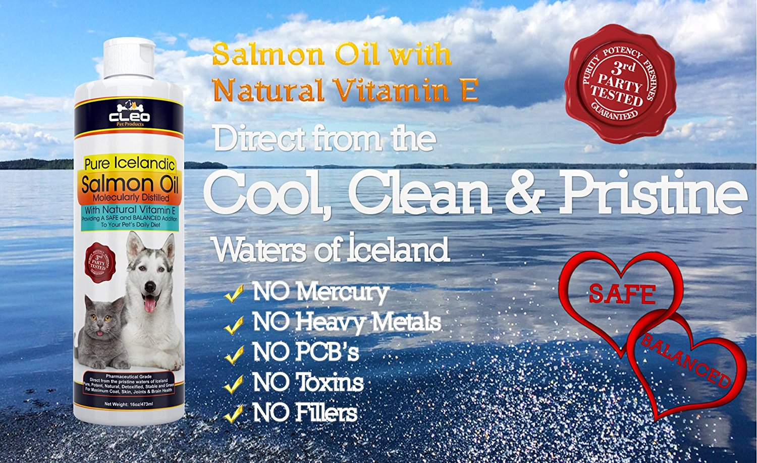 Benefits of salmon oil for pets